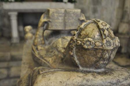 Tomb, Lisbon Cathedral, Alfama, Lisbon