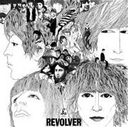 The cover of the Beatles' album Revolver.