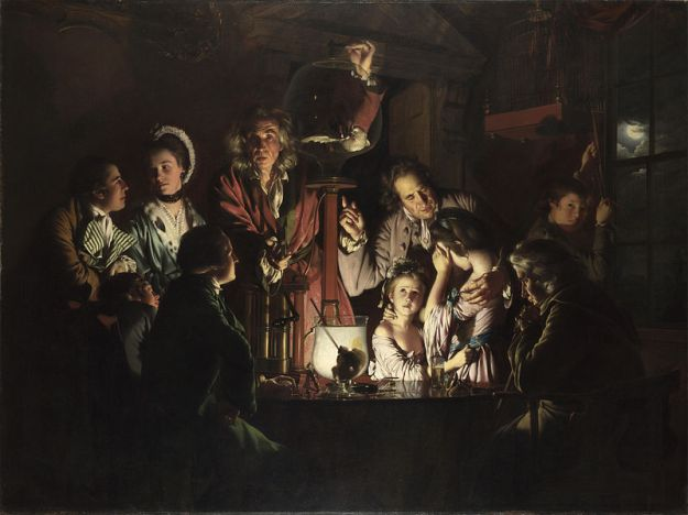 An_Experiment_on_a_Bird_in_an_Air_Pump_by_Joseph_Wright_of_Derby 2