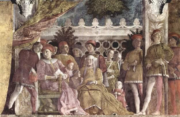 Andrea_Mantegna camera degli sposi