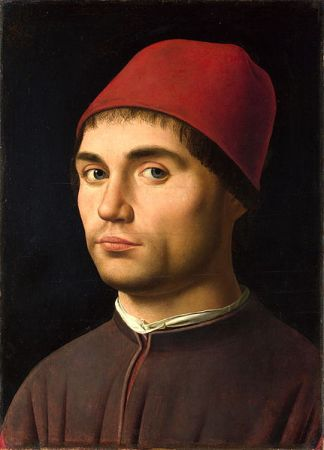 Antonello_da_Messina_ portrait of a man