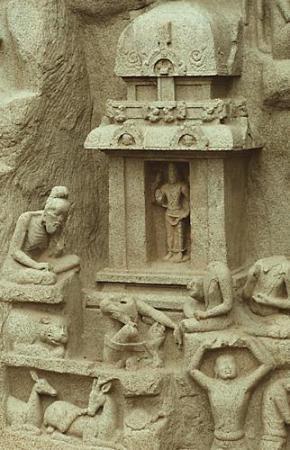 bhagiratha does penance