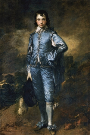 Gainsborough's Blue Boy.