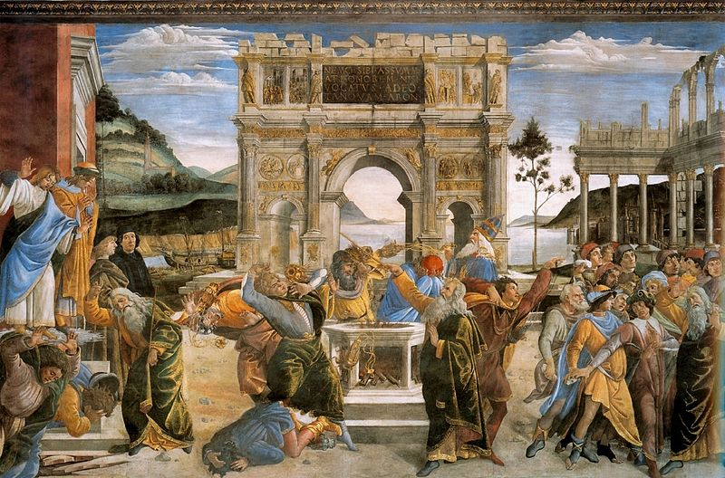 Botticelli - Punishment_of_the Rebels