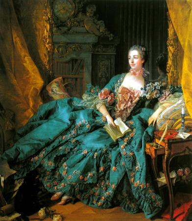 boucher portrait-of-madame-de-pompadour