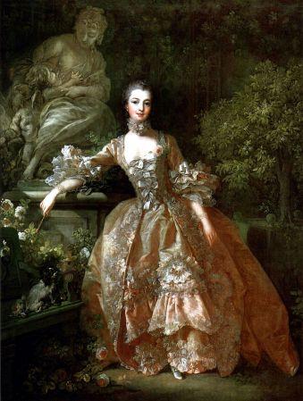 Boucher_Madame pompadour 1759