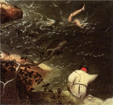 bruegel icarus detail