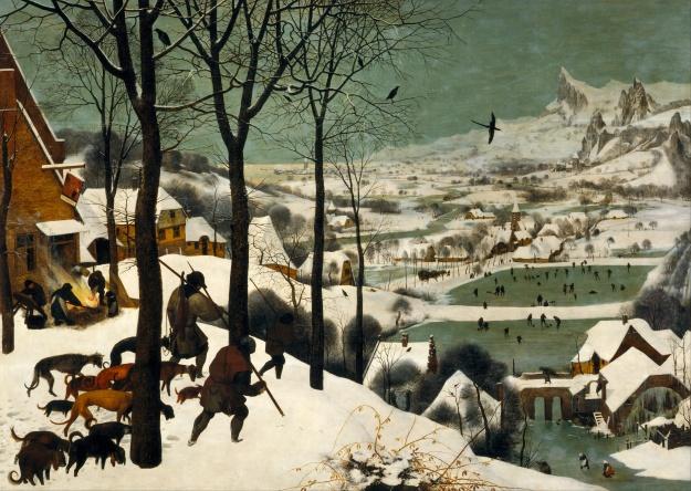 Bruegel_Hunters_in_the_Snow