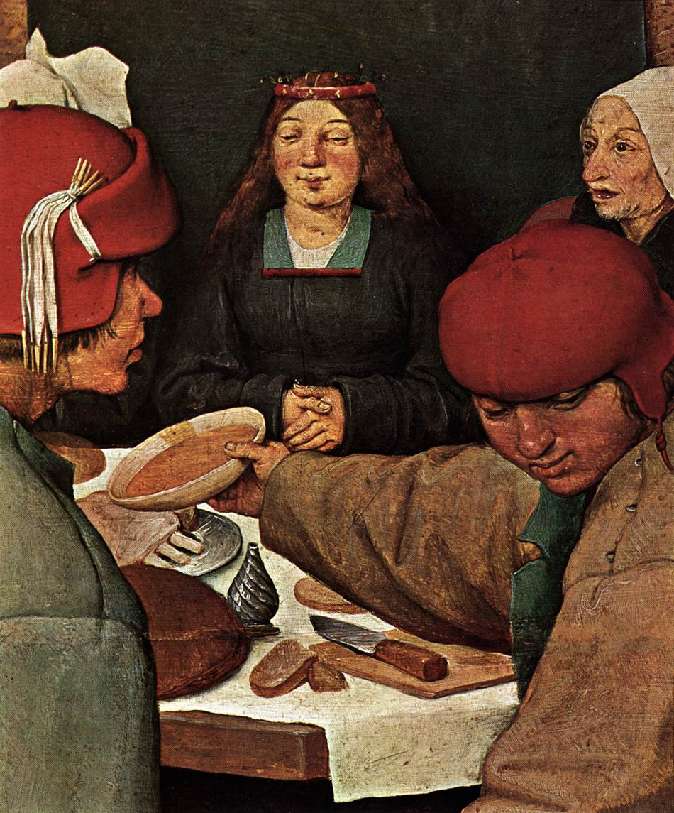 Bruegel_Peasant_Wedding_(detail)_