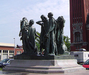 The Burghers of Calais.