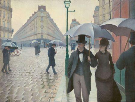 Caillebotte Paris_Street;_Rainy_Day