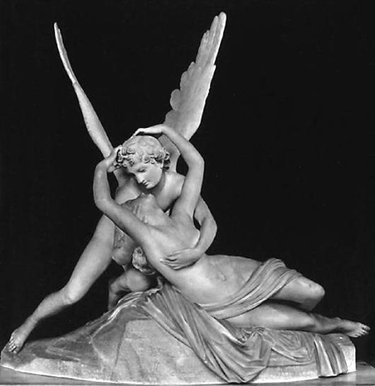 Canova-Psyche and Eros