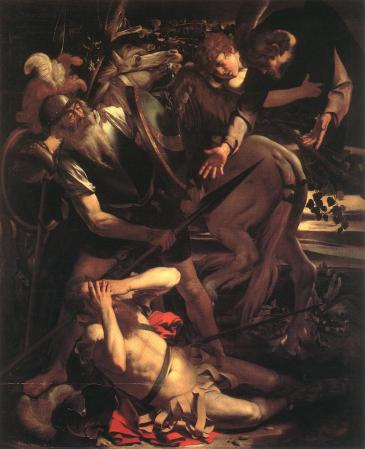Caravaggio_-_The_Conversion_of_St._Paul_first version