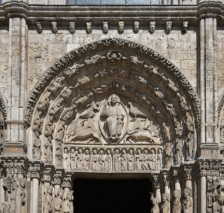 chartres cathedral royal portal