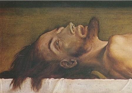 dead christ detail