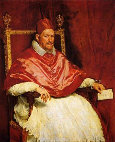 Portrait of Pope Innocent X.