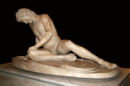 Dying Gaul. (Photo courtesy of Jean Pol Gradmont.)