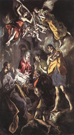 El Greco-The Adoration of the Shepherds