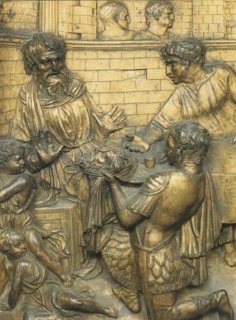 feast-of-herod,-bronze-relief,-donatello,-mid-1420s-(baptistery,-siena)(2)