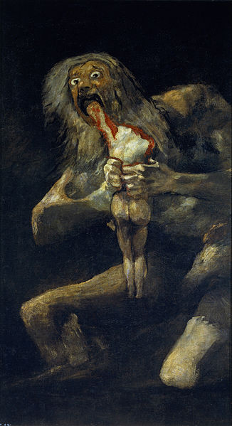 Goya Saturn Devouring His Son