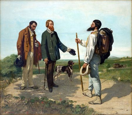 Gustave_Courbet - Bonjour