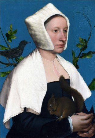 holbein Lady_with_a_Squirrel