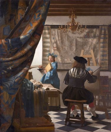 The Art of Painting, by Vermeer.