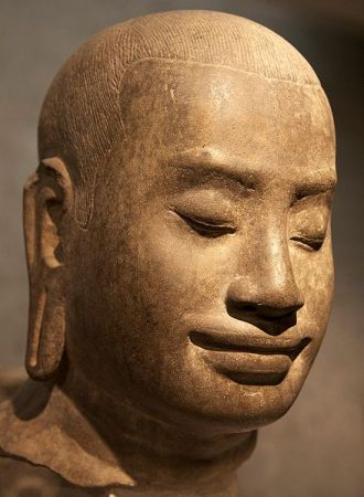 Jayavarman VII was a Buddhist king of the Khmer Empire in Cambodia.