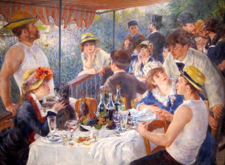 The Luncheon of the Boating Party.