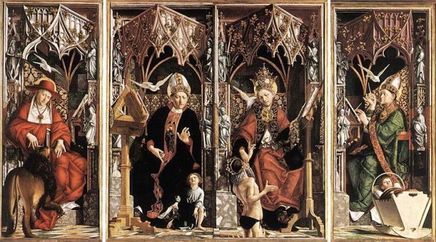 Michael_Pacher_-_Altarpiece_of_the_Church_Fathers 2