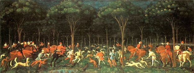 Paolo_Uccello_The_Hunt_in_the_Forest