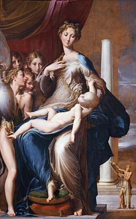 Parmigianino_-_Madonna_with the long neck