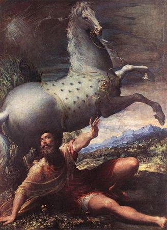 Parmigianino_-_The_Conversion_of_St_Paul