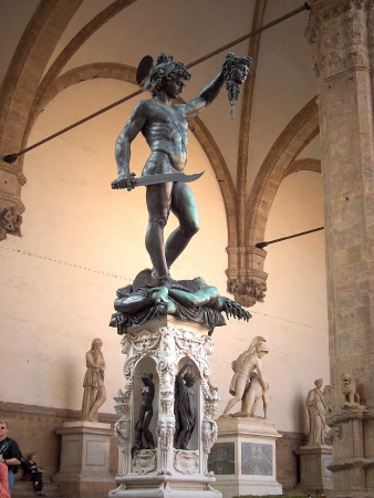 perseus with base