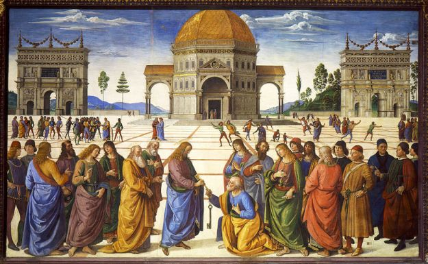 Perugino - Giving the Keys