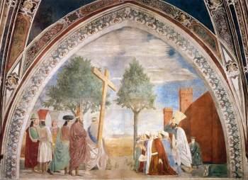 piero della francesca Exaltation of the Holy Cross, Arezzo