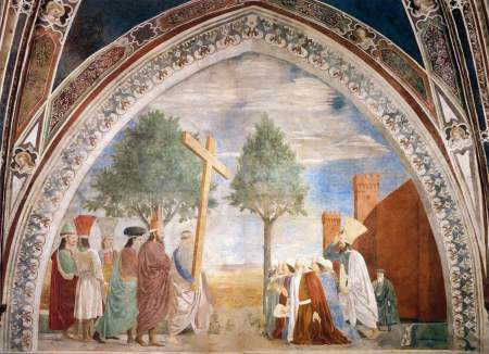 piero della francesca Exaltation of the Holy Cross, Arezzo