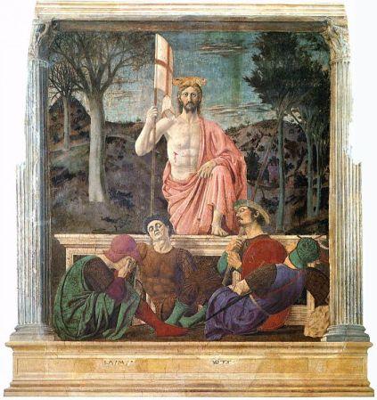 The Resurrection of Christ, by Piero della Francesca.