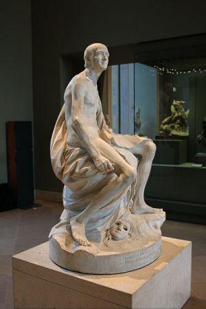 Pigalle-Voltaire Statue
