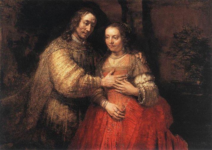 Rembrandt_-_The_Jewish_Bride 2