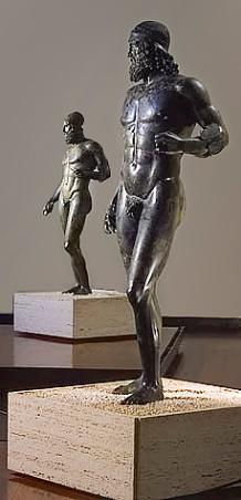 Bronze Warriors found near Riace, Italy.