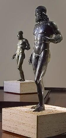 Riace bronzes