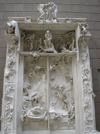 The Gates of Hell - original plaster version.
