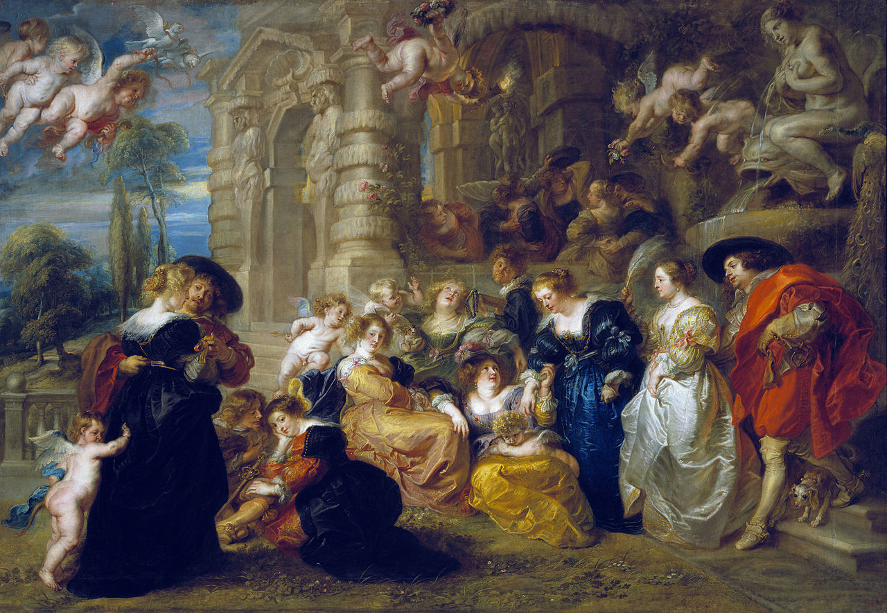rubens garden of love