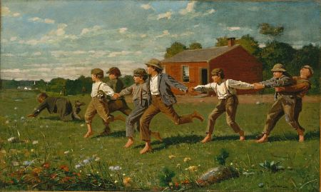 Snap_the_Whip - Winslow_Homer