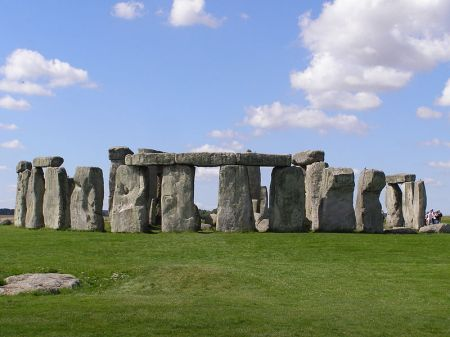 The megaliths of Stonehenge were part of a large complex of man-made structures that were presumably used for ritualistic purposes.