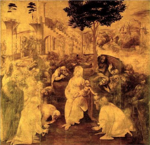 the-adoration-of-the-magi-DaVinci
