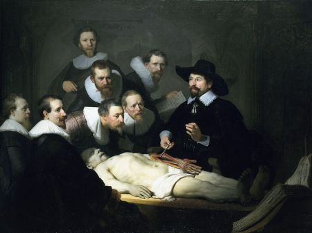 The Anatomy Lesson of Dr. Nicholaes Tulp.