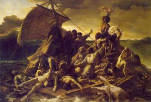 The Raft of the Medusa.