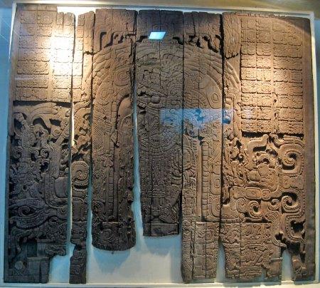 tikal relief sculpture